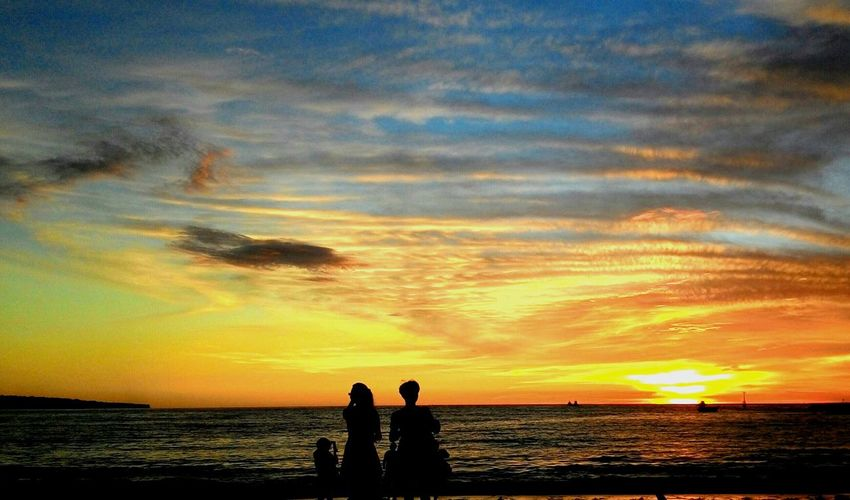 Sunset Nature_collec Beach Bali Jimbaran Enjoying Life Taking Photos InD