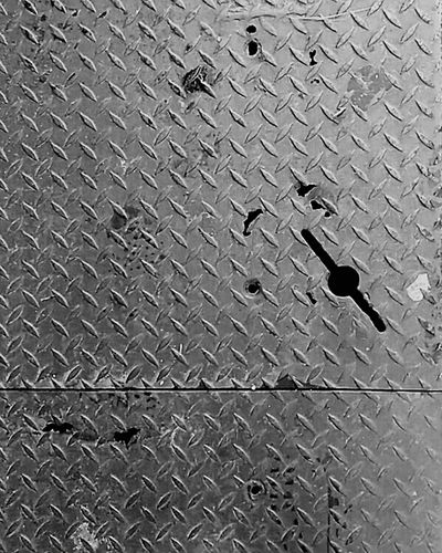 Keyhole Metal Gate Utility Gate Steel Panel