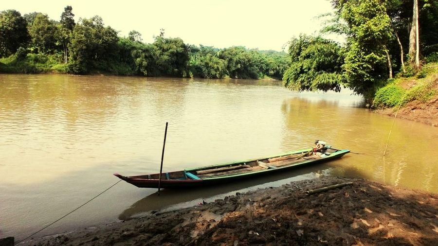 Classic Boat Trasportation Classic Trasportation Tree Water Nautical Vessel River Sky Boat Sunken The Great Outdoors - 2018 EyeEm Awards
