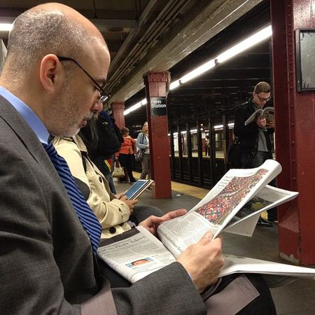 Waiting....#pennstation #nyc #subway Subway Pennstation NYC