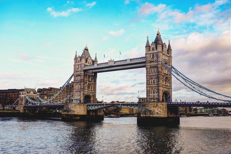 Tower Bridge Tower Bridge  London LONDON❤ Bridge - Man Made Structure Travel Destinations Travel Sky Built Structure Architecture Suspension Bridge City Cityscape No People