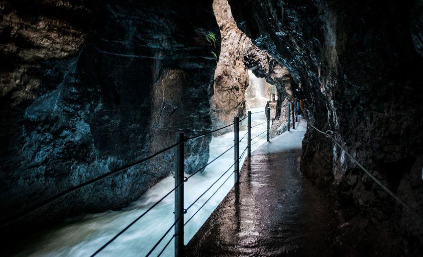 A day hiking in the beautiful Partnachklamm (Partnach gorge) in Garmisch Partenkirchen (Bavaria, Germany) Bavaria Creek Garmisch Gorge Mountain Creek Alps Bavarian Alps Garmisch-partenkirchen Mountain Mountain Stream Partnachklamm Peaceful
