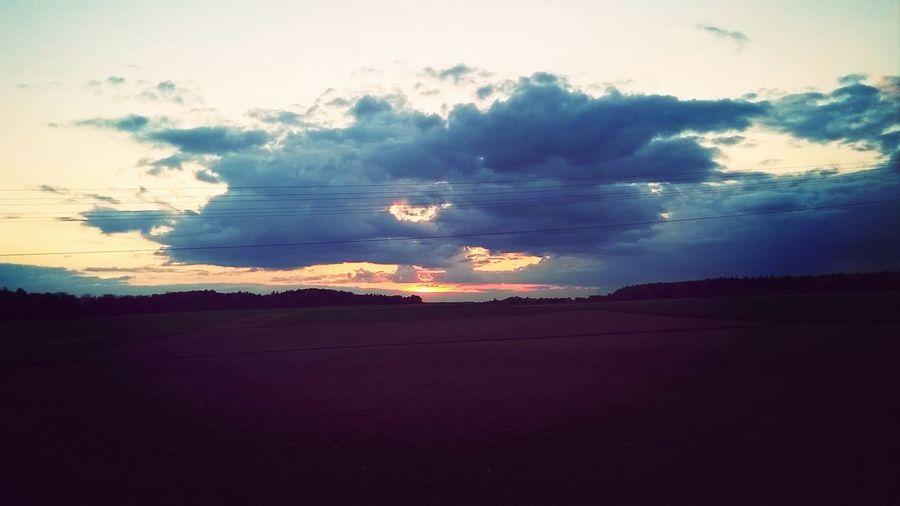 Nobody's thinking about the Nights Full of sleep ;) Sun Set