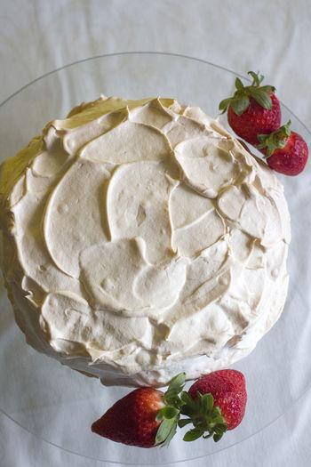 Dessert Dessert Porn Pavlova Pavlova Cake Cake Dessert Food Food And Drink Freshness Fruit Indoors  Indulgence No People Pavlovas Ready-to-eat Snow Still Life Strawberry Sweet Sweet Food Temptation