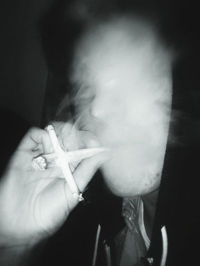 420 Smoke Blackandwhite Enjoying Life