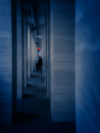 Urban living Architecture Blue Colors Building Exterior Cityscapes Mood Outdoors Street Photography Suddenly Urban