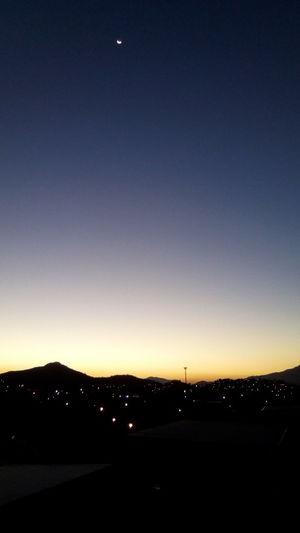 Sunset No People Moon Nature Silhouette Night Outdoors Sky Beauty In Nature Scenics Mountain Astronomy Realengo Serra Do Mendanha Serra Da Pedra Branca
