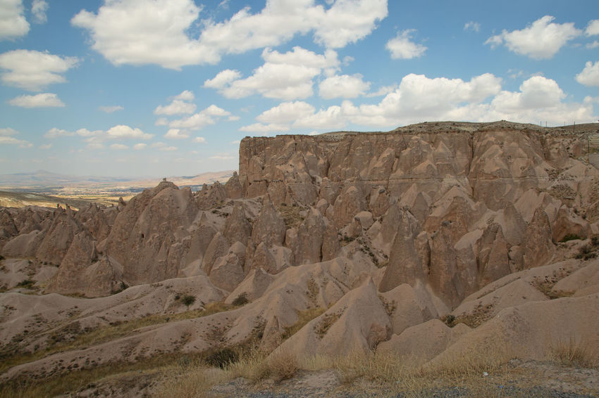 Cappadocia Cappadocia Cappadocia/Turkey Earth Rock Formation Turkey Beauty In Nature Cloud - Sky Environment Eroded Formation Geological Formation Geological Landscape Geology Land Landscape Mountain Nature Physical Geography Rock Rock - Object Scenics - Nature Sky Tranquil Scene Tranquility Travel Destinations