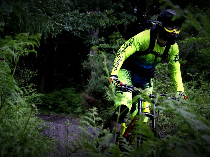 Downhill MTB Mountain Biking Summer Time  Mountain Bike Trails Bright Colour Vibrant Live For The Story