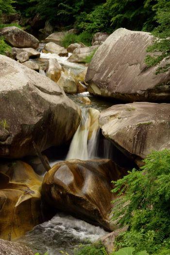 Waterfall Water Rock - Object Pentax K-3 甲府市 昇仙峡