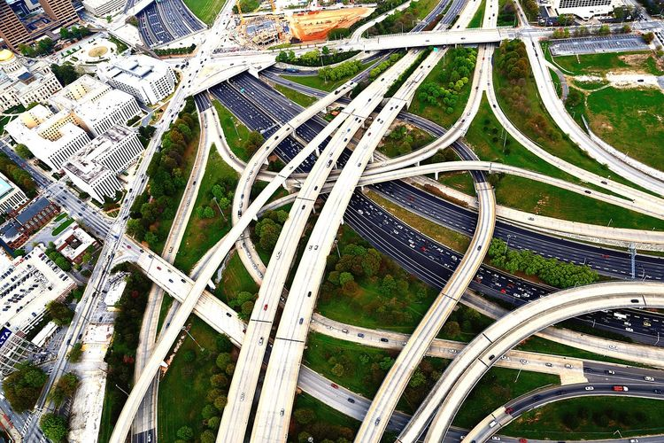 Traffic No People Art And Craft Creativity White Color High Angle View Outdoors Day Design