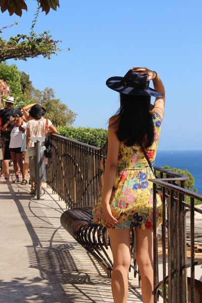 Sorrento Sorrento, ItaliaAdult Sorrento Coast Young Adult Young Women Adults Only Only Women People Rear View Outdoors Summer Women Day One Woman Only Standing One Person Water One Young Woman Only Sky