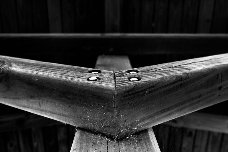 Wood - Material Wooden Post Wood Wooden Architecture Design Creativity Creative Light And Shadow Light And Shadow Shadow No People Cold Temperature Black And White Black Outdoor Photography Lines Long Straight Leading Pattern Relaxing Instagood Instalike Instadaily Angle Welcome To Black Resist Art Is Everywhere
