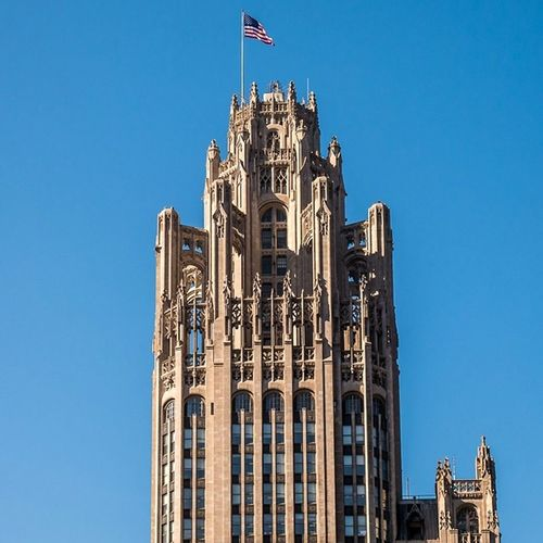Tribune Tower Chitecture Chicago Travel Latergram