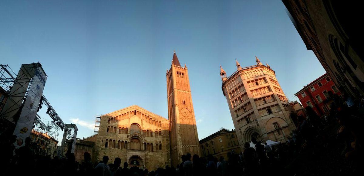 Duomo Di Parma Parma Italy Beautiful People Architecture Art Campanile Bells Clock