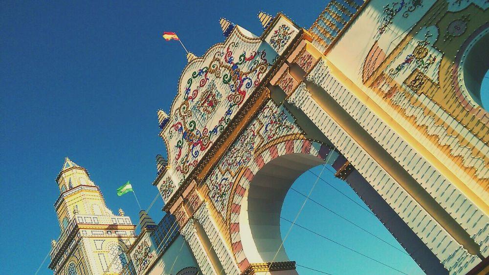 Sevilla es la gloria de los cielos. Seville SPAIN Feria De Abril Feria