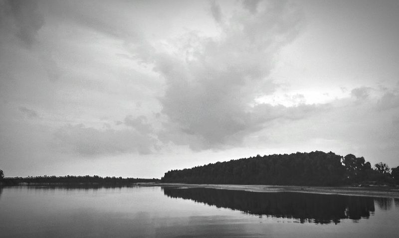 River Collection Riverscaperiv Myphoto Black & White Nice Day Nice Weather