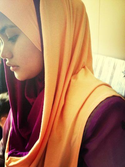 Eid Hijjab Selfie ✌ Taking Photos