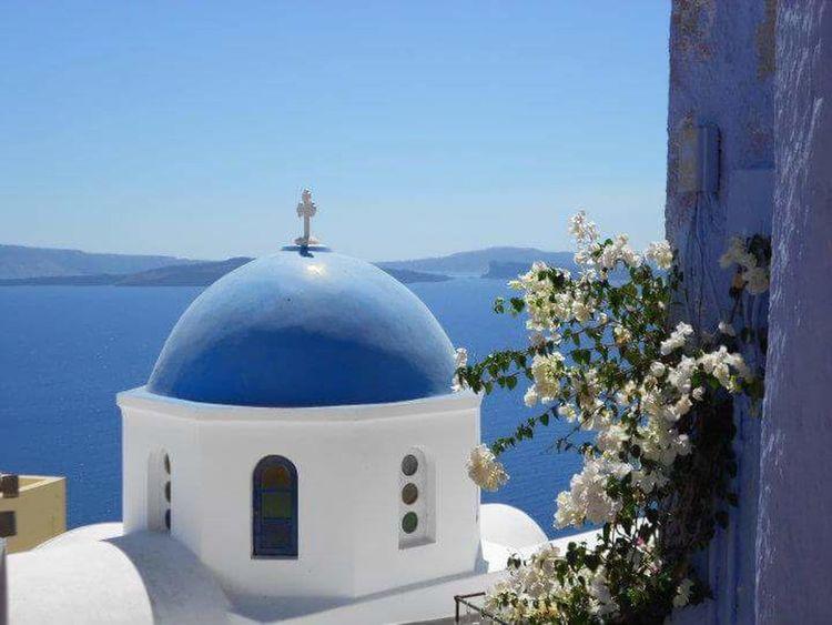 Summer Summer Colours Greece Santorini, Greece Santorini Summer Greece Blue Traveling Live For The Story BYOPaper!