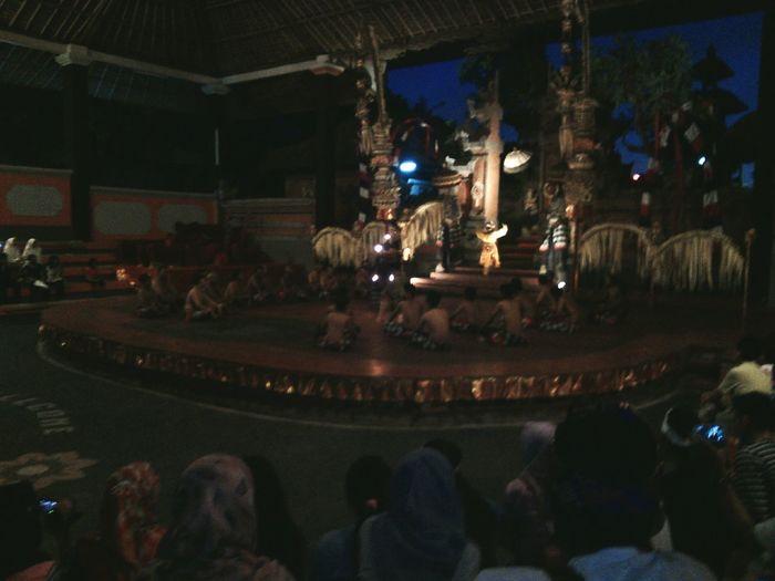 Large Group Of People Night Performance Tari Kecak Balinese Culture Indoors  Large Group Of People Illuminated Night Performance People Crowd Adult