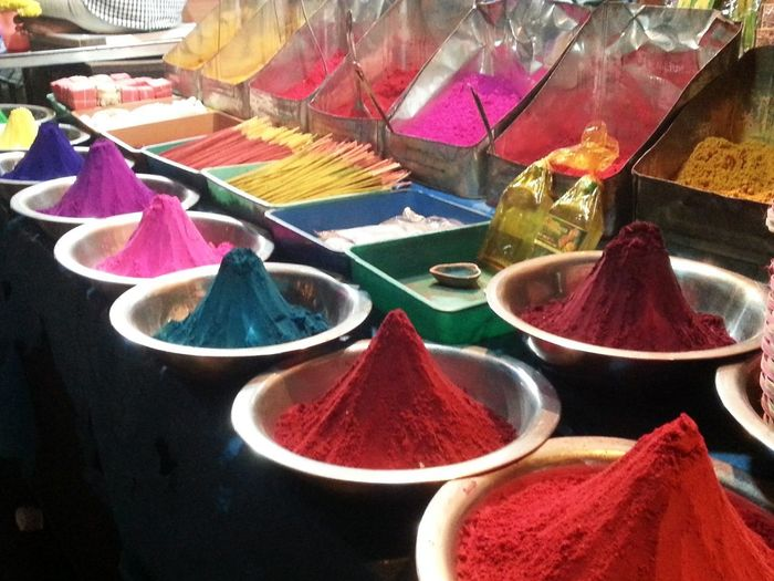 colours of life... Indian culture Red Color Bright Colors Bright Red Pink Color Colour Powder Colours Colours Of Life Rangoli Colours Variation Choice Multi Colored For Sale Small Business Retail  No People Powder Paint