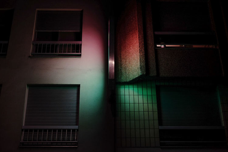 Butterfly 35mm Film Architecture Built Structure Butterfly Illuminated Indoors  Light Neon Night No People Photo Street Light Streetphotography Vibrant Color HUAWEI Photo Award: After Dark