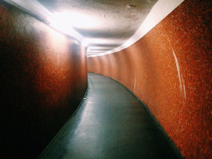 Paris Subway Metro Paris Tunnel Vision Perspective www.instagram.com/pierrebdn