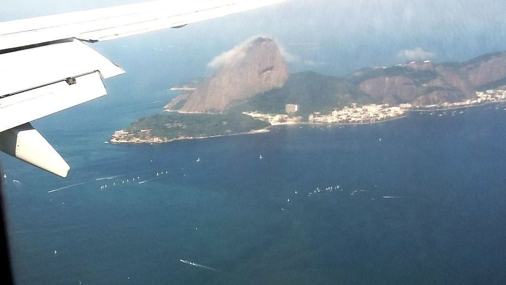 Rio De Janeiro Boats Bay Guanabara Bay Baía De Guanabara Uniqueshots EyEmNewHere Naturelovers Onplane From An Airplane Window Fromabove No People Day Sea Water Outdoors Nature Sea Life An Eye For Travel Stories From The City Go Higher
