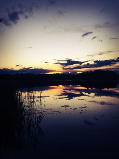 Sunset Water Sky Beauty In Nature Nature Naturelovers Summer Memories