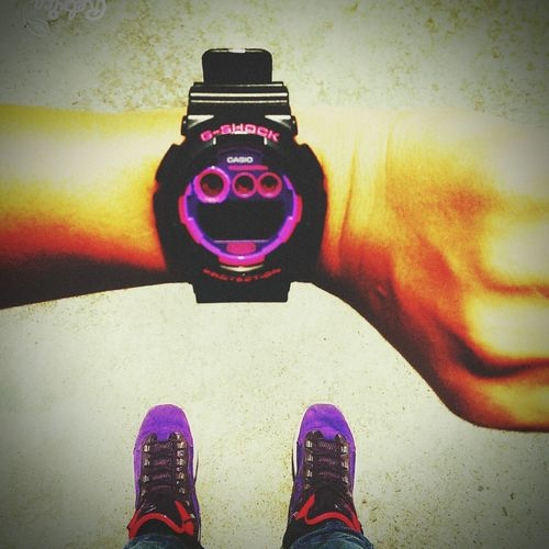 Gshock Iverson Questions Purple Tgis Friday Sunny Day 😀😀😀😀💥🌞🌞
