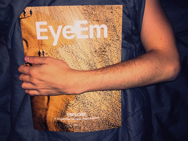 Tonight I sleep with the EyeEm magazine EyeEm Magazine EyeEm Magazine Explore Volume1 Sleeping Arm Bed Bedtime Grey Cover Hug Tonight Skin Sheets Piel Peau Colors Hand Goodnight Book Real Photography Life In Colors Dream Träume