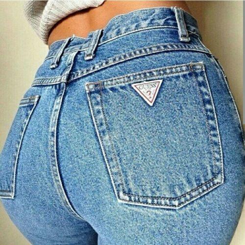 Blue Jeans Guess Jeans  Fashion Gorgeous Aesthetics Beauty Model Urban Fashion Street Fashion Sculpting A Perfect Body