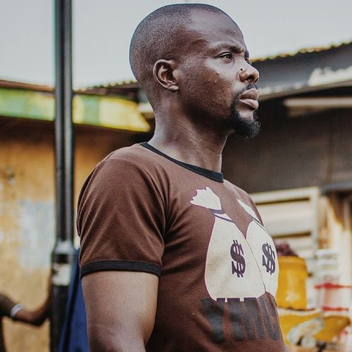 The dollar man! Portrait from my car window. Lagos Nigeria Africa Dollar african streetphotography vsco snapitoga