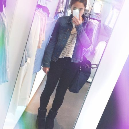 Ootd Outfit Style Love ♥ Selfie Fashion Hm Zara Today Spao