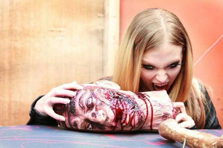 That's Me Prettylittlemonster Vamp Photography Halloween Vampire Modeling Horror Halloween_Collection Hunger