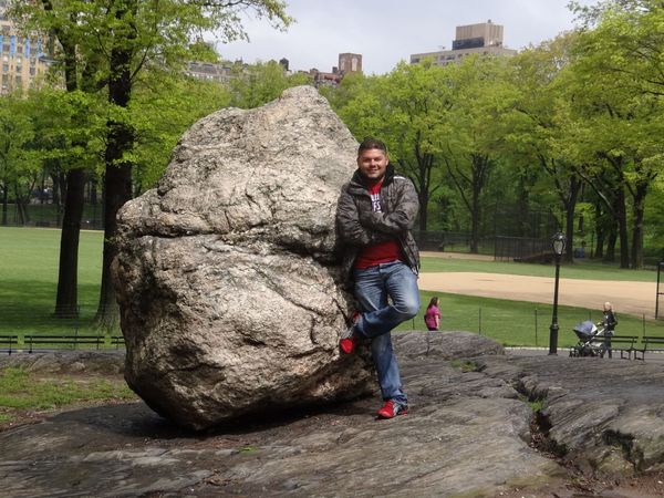 That's Me NYC Central Park