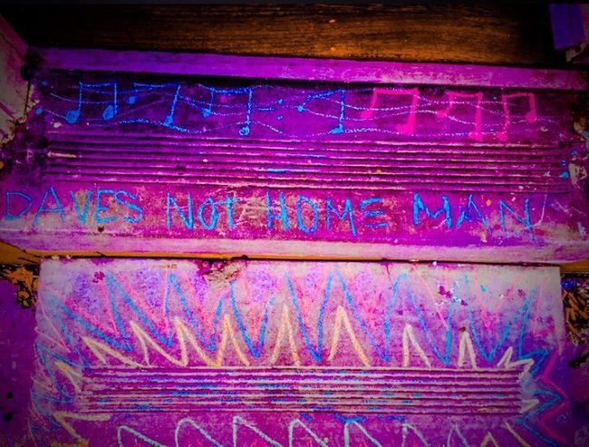 Daves Not Home Cheech & Chong Chalk Mexican American Still Funny Art, Drawing, Creativity Taking Photos