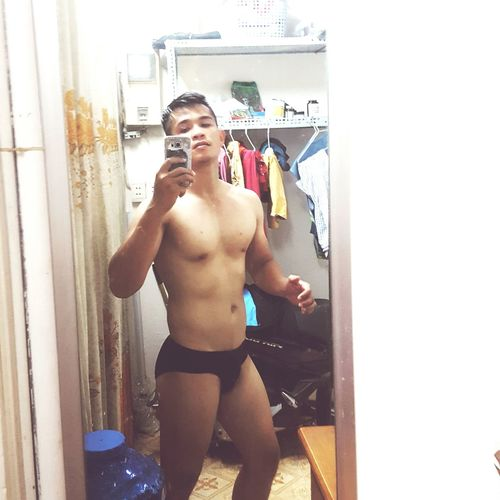 Muscle 💪💪 Asianguyofficial One Man Only Sport One Person Underwear😈 first eyeem photo