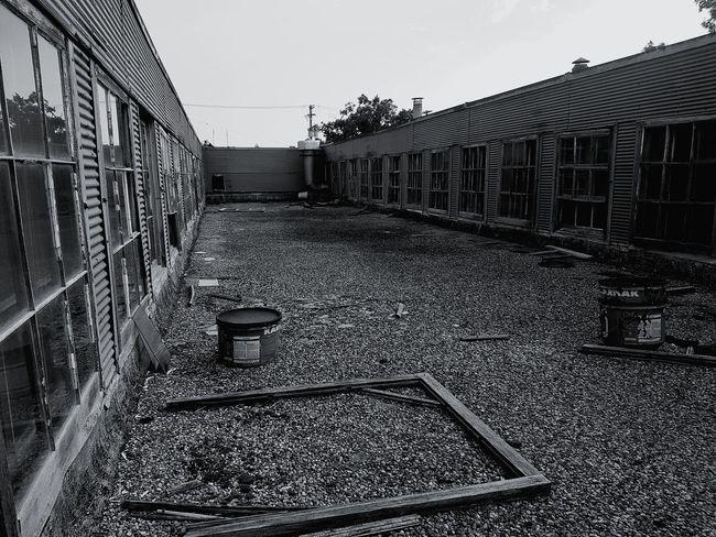 Hidden dystopian scene
