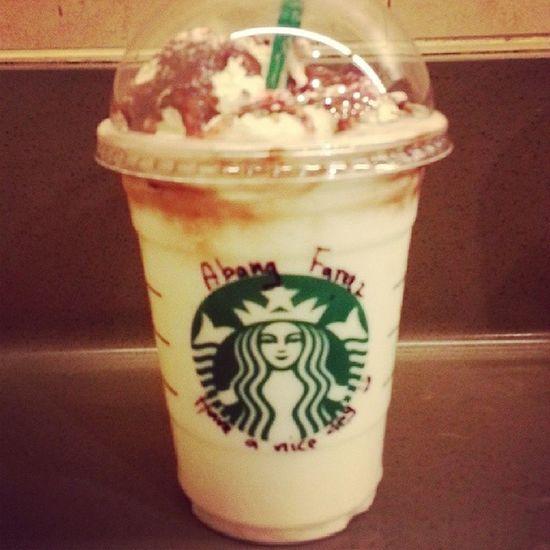 Love Frappucino Starbucks