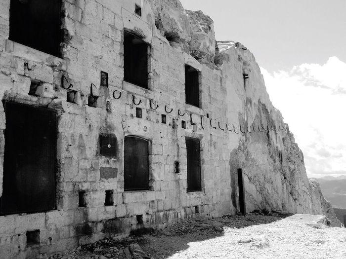 Abandoned Damaged Old Ruin Architecture