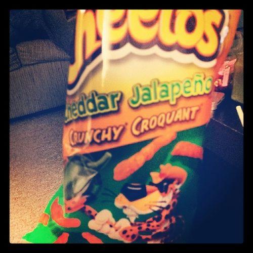 Jalape ño Cheetos Crunchy Foodporn nom