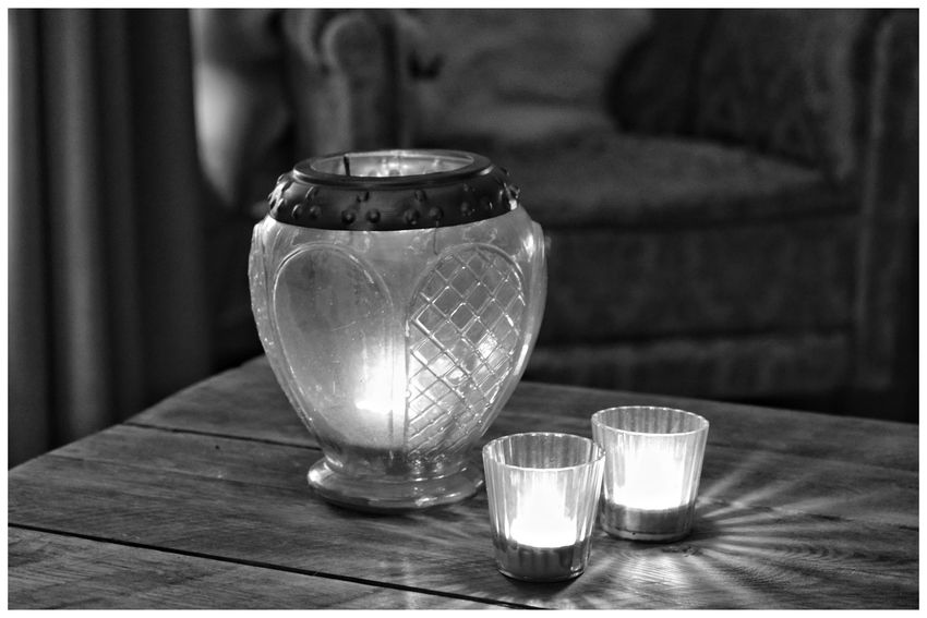 Candles Candlelight Interior Interior Design Seat Chair Old Chair Blackandwhite Photography Blackandwhite Blackandwhitephotography Black And White Blackandwhitephoto Black And White Photography EyeEm Best Shots - Black + White Bandw Table Close-up