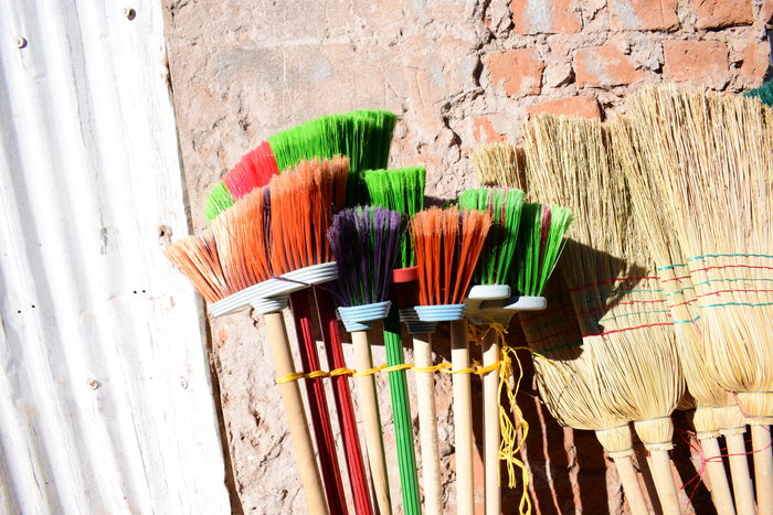 Bolivia Brooms  Choice Close-up Day Indoors  Market Multi Colored No People Still Life The Photojournalist - 2017 EyeEm Awards Variation