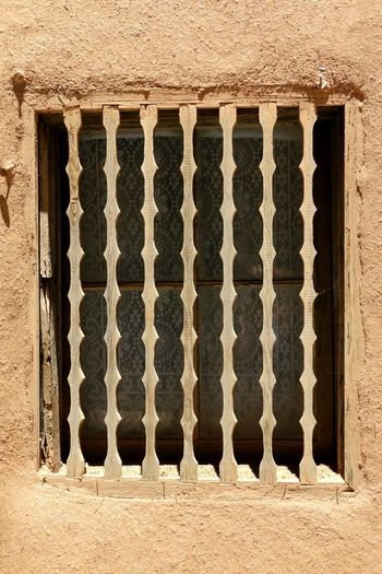 Windowsaroundtheworld Santefe Lifestyle EyeEm Selects Metal Grate Window Architecture Close-up Built Structure Weathered Textured