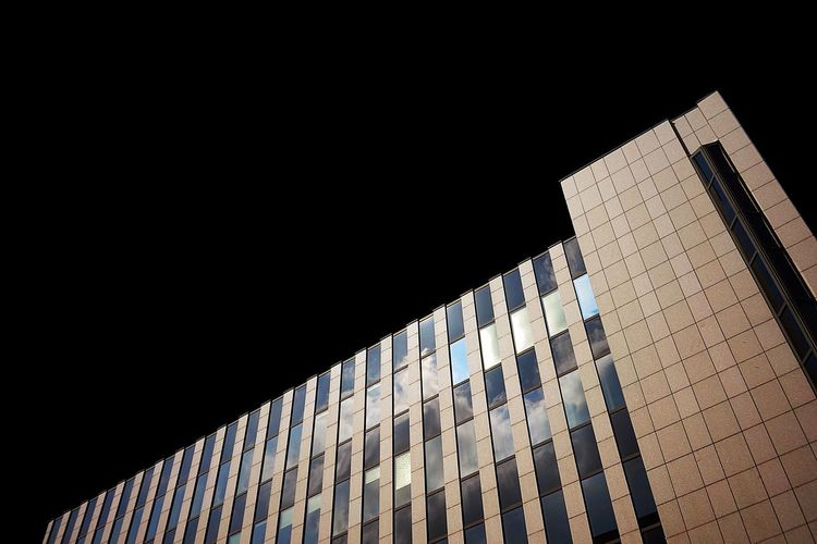 Building Exterior Built Structure Architecture Building Copy Space Low Angle View Sky No People Office Building Exterior City Clear Sky Skyscraper Outdoors Tower Modern Wall - Building Feature Window