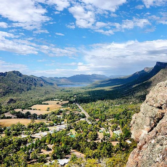 Awesome view at a vantage point while exploring the Grampians. Took about 1hr to trek up to this point. Traveltheworld Travelgram Instatravel Travel Travelphotography Australia Downunder Grampians Landscape Landscapephotography Neverstopexploring  View Awesome