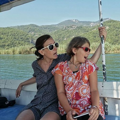 My Couple Love River Adventure Wonder Women Traveling Turkey