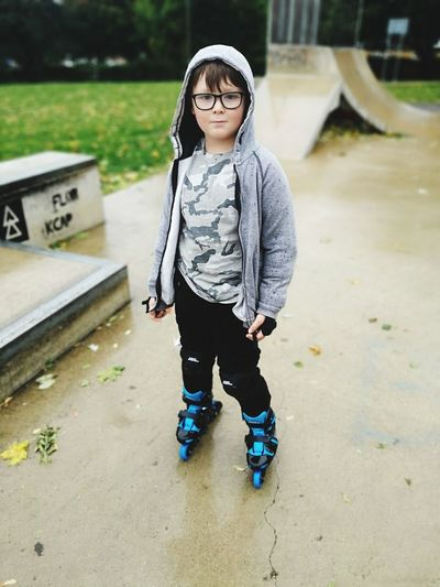 Urbanphotography Skater Boy Boys Will Be Boys Family❤ Freedom Love Gangsters Paradise Banbury, England Urban EyeEm Selects Warm Clothing Child Full Length Childhood Eyeglasses  Portrait Standing Looking At Camera Front View Casual Clothing EyeEmNewHere