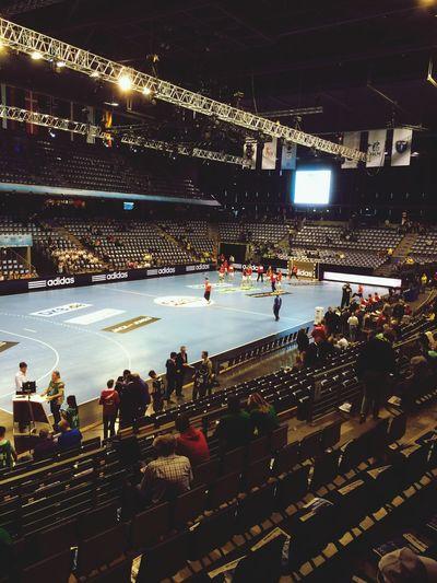 Auf gehts Füchse, auf geht's Berlin! EHF final Handball